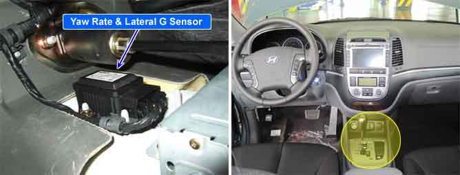 Yaw Rate Sensor >> AutoHex Online Help: Hyundai SANTAFE(CM) 2011 Fault Code: c1283